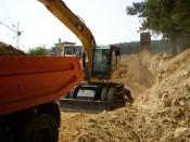АКВАВИЖЪН/AQUAVISION - Услуги - Полагането на тръбопроводи по класическа технология в готов изкоп