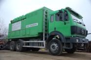 АКВАВИЖЪН/AQUAVISION - Услуги - Технология за почистване с машина за вакуумно събиране и извозване на смет